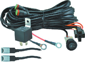 HELLA 357211011 WIRE HARNESS-TWO LIGHT 300W