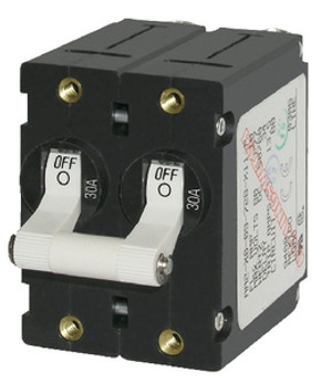 BLUE SEA SYSTEMS 7235 CIRCUIT BREAKER AA2 15A WHITE