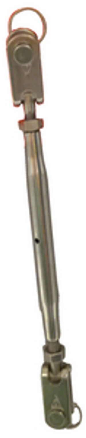 C. SHERMAN JOHNSON  04-110 TURNBUCKLE W 1/4 PIN-5/32 WIR