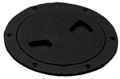 TEMPRESS PRODUCTS 43035 SCREW OUT DECK PLATE 4IN BLACK