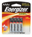 LOGISTICS CORP E92BP4 BATTERY AAA ENERGIZR 4/CD  @12