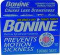 Bonine 029508 Seasick Tablets 0232-0002