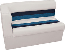 WISE SEATING 8WD108-1008 SEAT-CRNR LOUNG RH WHT-NVY-BLU