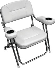 WISE SEATING 3367-784 DECK CHAIR W/ DUAL CUPHOLDERS