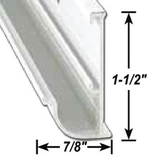 A P PRODUCTS 021-56202-16 GUTTER RAIL  BLK 16'  @5
