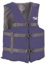 STEARNS 3000004477 PFD ADT OVS POLY BOATING BLU
