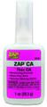 ZAP PT-08 CA Glue Pink-Label Thin 5160-0002