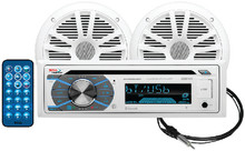 BOSS AUDIO SYSTEMS MCK508WB.6 CD PLAYER-BLUETOOTH W/2 SPKRS