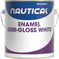 NAUTICAL PAINT 130/1 ENAMEL WHITE SEMIGLOSS GALLON