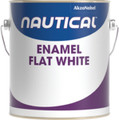NAUTICAL PAINT 140/1 ENAMEL WHITE FLAT GALLON