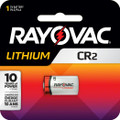 Rayovac RLCR2-1 CR2 Lithium Photo 0977-0126