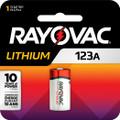 Rayovac RL123A 123A Lithium Photo 0977-0127