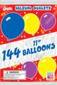 "Gayla 11106 Balloons 11"" Round 1Gr 0713-0136"