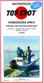 Top Spot N201 Map- Homosassa Area 0588-0010
