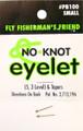 Kipper PB100 Fly Eyelet Sm 3Pk 0281-0003