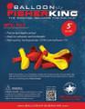 "Balloon Fisher King 41160 5"" Latex 4887-0002"