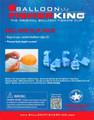 Balloon Fisher King 412 Balloon 4887-0013