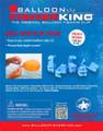 Balloon Fisher King 413 Balloon 4887-0014