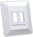 JR PRODUCTS 13615 DOUBLE SWITCH BASE
