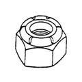 ALLOY FASTENERS, INC 115 HEX LOCK NUT 1/2-13 PER 50