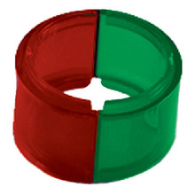 PERKO 0283DPALNS SIDELIGHT LENS SET (RED/GREEN