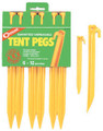 COGHLANS (US ONLY) 9312 12IN TENT PEGS PER CD/6