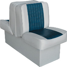 WISE SEATING 8WD707P-1-925 LOUNGE SEAT WHITE/RED