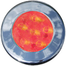 T-H MARINE LED51848DP LED RECESSED PUCK 3 BEZELS RED
