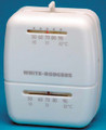 WHITE RODGERS M30 UNIV. HEATING THERMOSTAT WHITE
