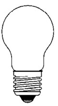 ANCOR 533025 34V 25W MEDIUM SCREW BULB (2)