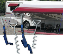CAREFREE OF COLORADO 901000 AWNING TIE-DOWN W/HOOKS