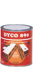 DYCO PAINTS INC. 890 QT QT WHITE DYCO 890 SHIELD/SEAL