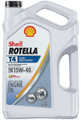 SHELL OIL 550045128 ROTELLA T4 15W40 CK-4 5 GAL