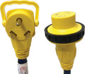 A P PRODUCTS 16-00590 LOCKING 30-30 EXT CORD 2 FT