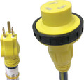 A P PRODUCTS 16-00592 LOCKING 15-30 EXT CORD 2 FT