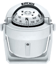 RITCHIE NAVIGATION B-51WCLM EXPLORER COMPASS WHITE-BKT/MT