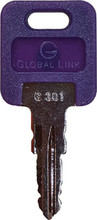 A P PRODUCTS 013-690332 GLOBAL REPL KEY #332 @5