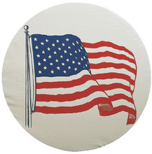 ADCO PRODUCTS INC 1787 U.S. FLAG TIRE COVER SIZE J