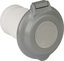 PARKPOWER BY MARINCO 6344EL-BRV.G INLET-CONTOUR 50A GRAY