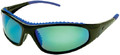 YACHTER'S CHOICE PRODUCTS 41403 WAHOO BLUE MIRROR SUNGLASS