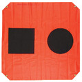 ORION SAFETY PRODUCTS 925 3'X3' ORANGE DISTRESS FLAG
