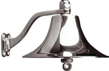 SEA-DOG LINE 455721 BRASS BELL(CHROME PLATED)-8 IN
