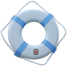 CAL JUNE BOUYS P-20 RING BUOY WHITE 20 IN