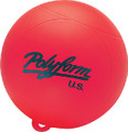 "POLYFORM 28-539-331 WS-1 RED 8"" WATERSKI BUOY"