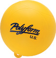 "POLYFORM 18-314-701 WS-1 YELLOW 8"" WATERSKI BUOY"