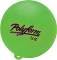"POLYFORM 27-411-191 WS-1 GREEN 8"" WATERSKI BUOY"