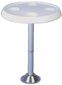 TODD ENTERPRISES 99-1613W TABLE TOP ONLY ROUND WHITE