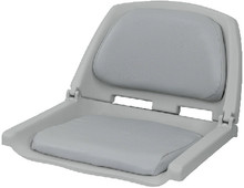 WISE SEATING 8WD139LS-717 MOLDED PLASTIC SEAT GREY