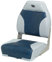 WISE SEATING 8WD588PLS-660 HIGH BACK SEAT GREY/NAVY