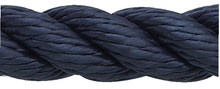 NEW ENGLAND ROPES 60531200015 DOCKLINE 3/8 X 15 NYLON NAVY